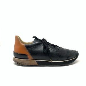 Hermès Miles Leather Sneakers